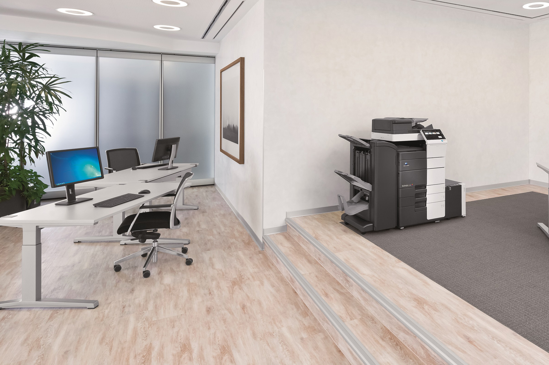 Sistema azienda macchine per ufficio stampanti e for Mobile per stampante ufficio
